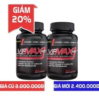 Giảm 20% khi mua Combo 2 lọ Vipmax-RX chống xuất tinh sớm