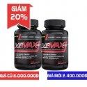 Giảm giá đặc biệt 20% khi mua Combo 2 lọ Vipmax-RX chống xuất tinh sớm