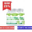 Giảm 25% khi mua Combo 3 lọ Winmax-Plus hỗ trợ cải thiện chống xuất tinh sớm