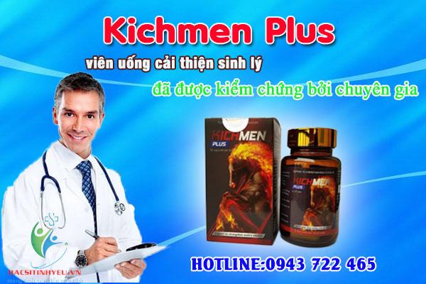 Kichmen Plus cách dùng