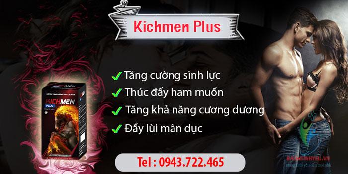 Kicmen Plus giá bao nhiêu