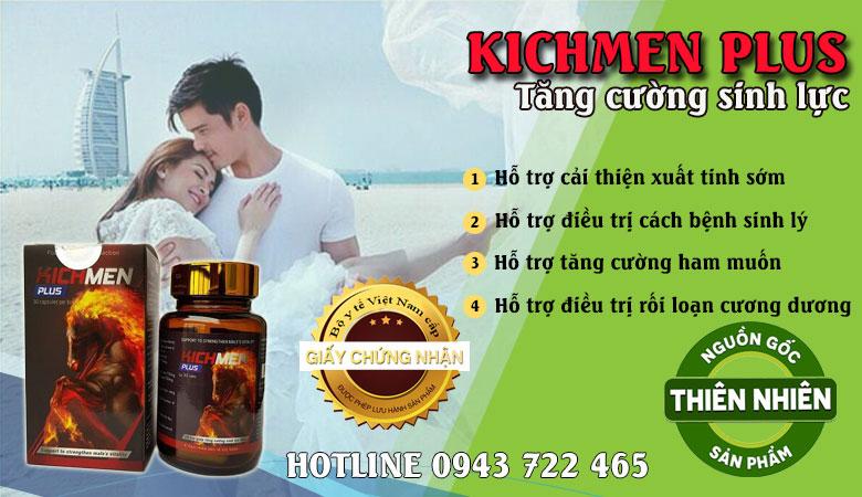 Kichmen plus giá bao nhiêu