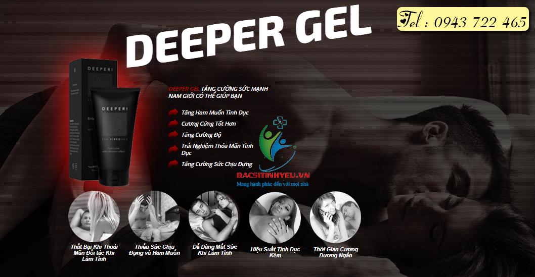 tác dụng của deeper gel