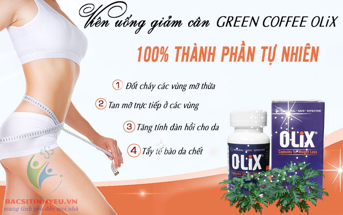 vien-uong-green-coffee-olix-new-2017